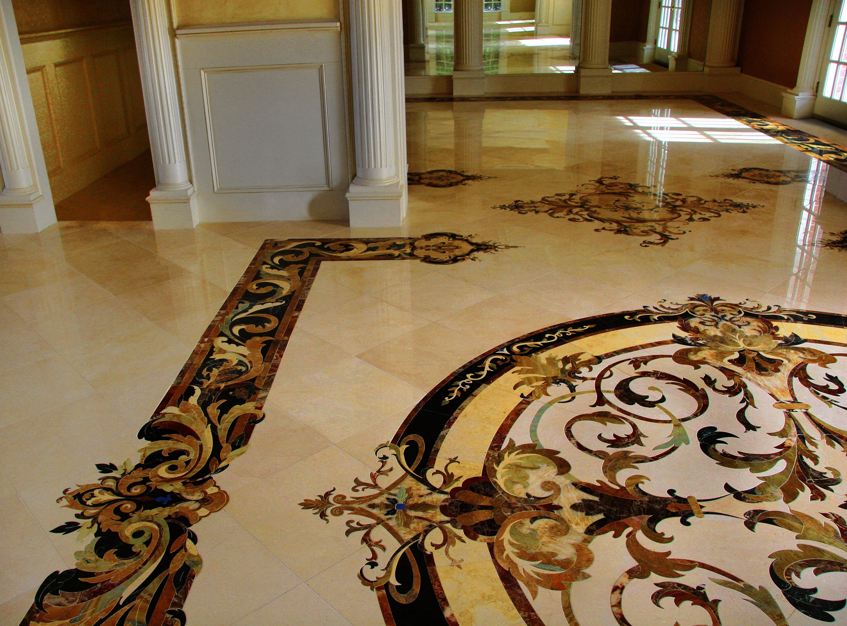 Marble inlay design - capri