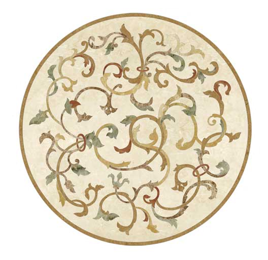 flora-free-form-marble-medallion