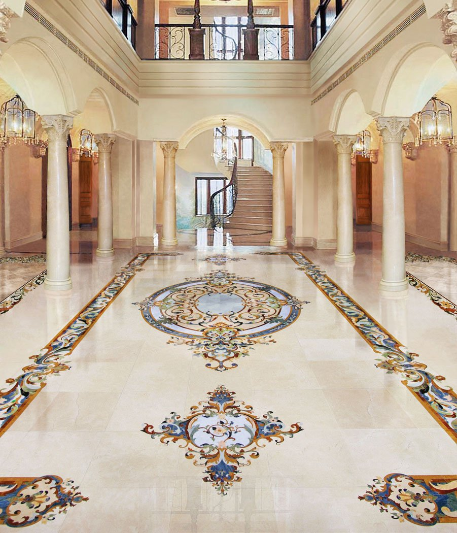 grand-foyer-marble-mosaic-floor