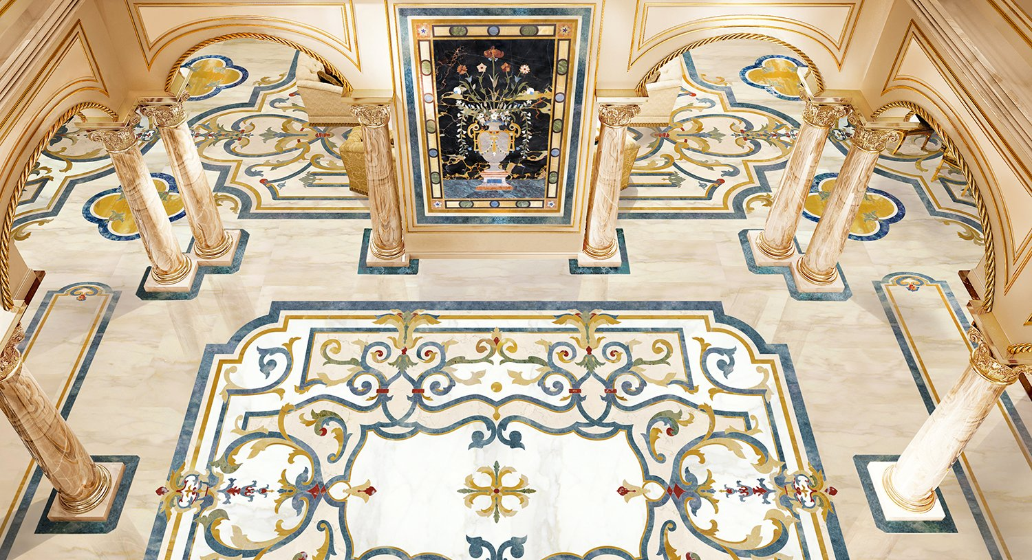 luxury-marble-foyer-calacatta