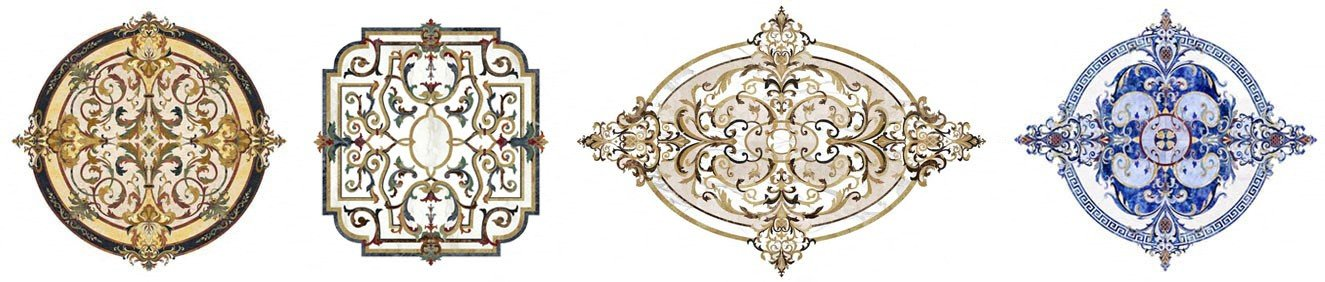 marble-medallion-custom-floor - misc