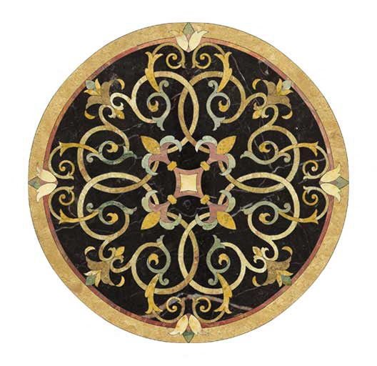 nero-black-design-marble-medallion
