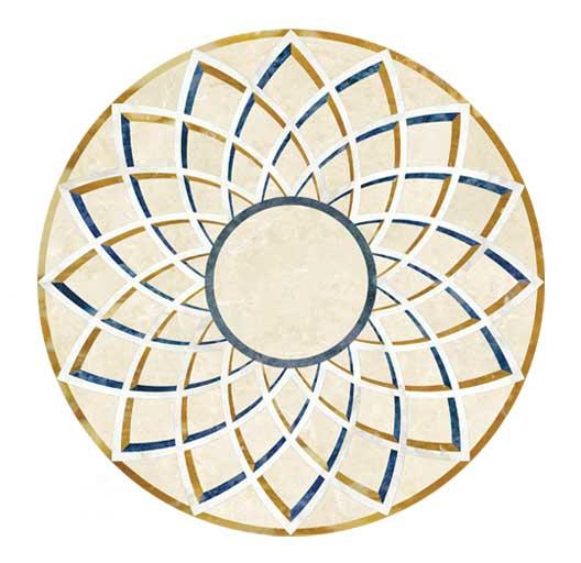 ombra-geometric-marble -medallion