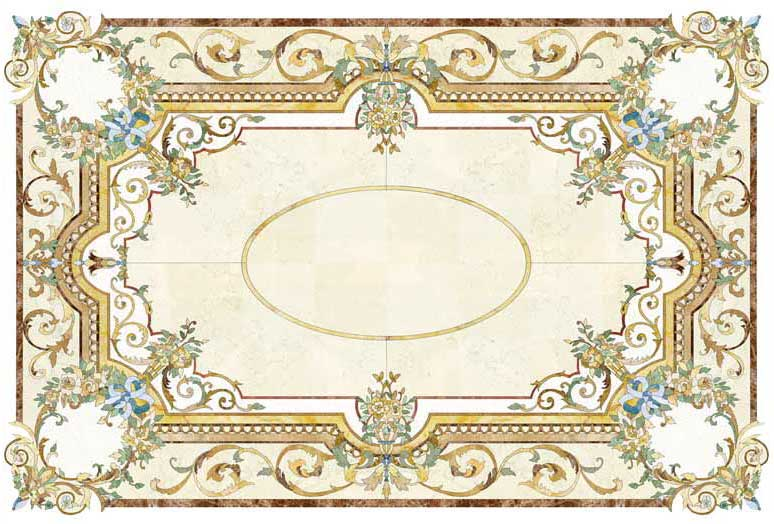 provincial-classical-marble-inlay-mosaic-design-medallion