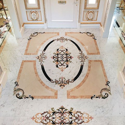 rinaldi collection marble foyer