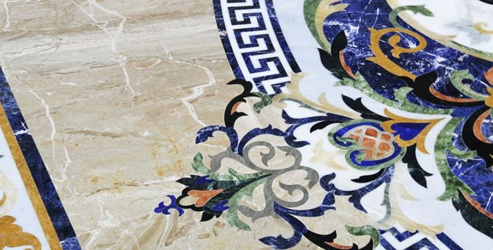 sodalite-blue-luxury-marble-inlay-flooring