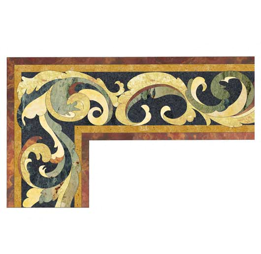 tuscany classical border design